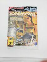 NEW SEALED GamePro Magazine January 2000 Tomb Raider Lara Croft DK64, Issue 136