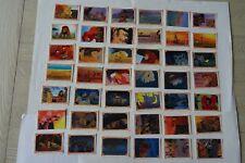 PANINI stickers van Lion King - Walt Disney klassiekers -42 unieke prentjes