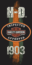 "Harley Davidson Towel EST 1903 Beach Pool FULLY LICENSED!!! 30""x60"""