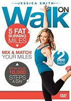 NEW 10000 Steps Weight Loss  Walk On: 5 Fat Burning Miles Walking Exercise DVD