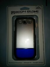 Body Glove Silver/Blue Phone Case For AT&T/Sprint/T-Mobile Samsung Galaxy S3 III