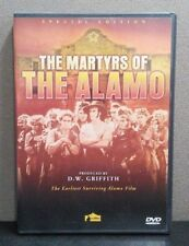 The Martyrs of the Alamo      (DVD)      LIKE NEW
