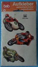 6 ADESIVI MOTO DA CORSA (GERMANY) - SIGILLATO SEALED