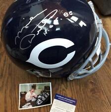 Mike Ditka- Full Size Chicago Bears Riddell Football Helmet Signed- PSA