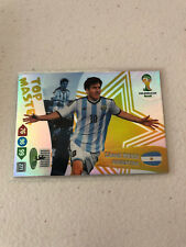 Official Panini Adrenalyn FIFA World Cup Brazil Top Master Lionel Messi