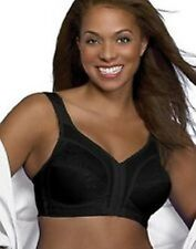 Playtex Women's Front-Close Bra with Flex Back #4695 in Beige, White, and Black
