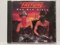 Fastway - Bad Bad Girls 1990 Enigma Records Rare OOP HTF