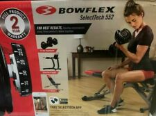 Bowflex SelectTech 552 SINGLE ONE Adjustable Dumbbell Weight SHIPS NEXT DAY!