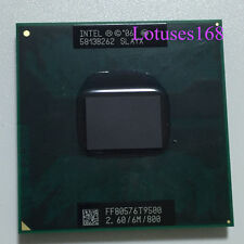 Intel Core 2 Duo T9500 2.6 GHz Dual-Core 6M 800 Processor Socket P /965 TOP CPU
