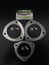 """3"""" inch Stainless steel exhaust flange Bolts & Gasket"""