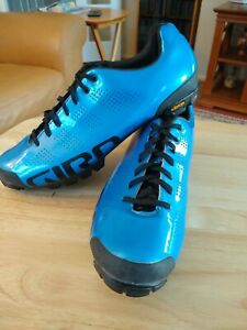 Giro Empire VR90 shoe, blue and black, size EU 45.5, US 11.5, UK 10.5 used