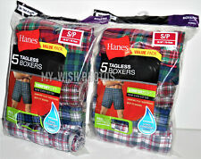 Brand New Hanes Men's Comfortsoft Tagless Boxers Shorts 5-Pack (Small 28-30 In)