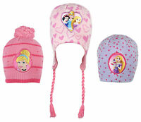 Girls Disney Princesses Knit Beanie Hat Cap 3 to 12 Years CLEARANCE SALE