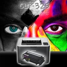 SAMSUNG Farblaserdrucker CLP-325 inkl. neue Toner im Austausch