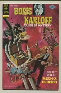 Boris Karloff- Tales Of Mystery #66 FN Gold Key Comics  CBX1T