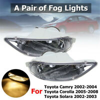 Genuine OEM Toyota 81220-AA011 Bumper Fog Light Driver Side Corolla Camry Solara