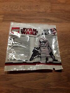 Lego Star Wars Polybag Stormtrooper Chrome