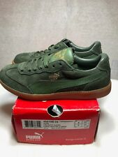 New Liga Suede Classic Forest Night-Rifle Green in Box