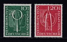 Postfrische Briefmarken aus der BRD (1955-1959) als Satz