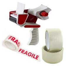More details for tape gun dispenser 2 or 3 inch with clear or fragile 48mm tapes heavy duty cs