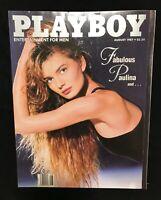 Playboy magazine August 1987 Paulina Porizkova Sharry Konopski Excellent