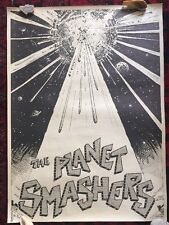 ***RARE*** Authentic Original THE PLANET SMASHERS Canada Poster