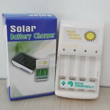New 1W Solar Charging Battery Charger for 4 pc AA/AAA Green Power J15