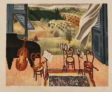"""Reuven Rubin """" Quartet """" plate signed lithograph limited edition of 990 only"""