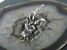 Ring TIKI Maske Māori Totenkopfmaske Skull Silberring Silber 925 Fingerring