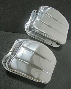 V-Twin Manufacturing Panhead Cover Set Aluminum - 42-0759