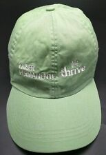 KAISER PERMANENTE green adjustable cap / hat