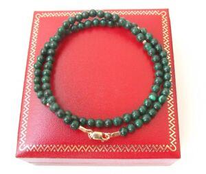 natural green eilat gemstone gold bracelet solid natural round bead wrap 14 k