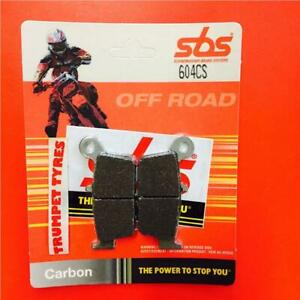 Gas GAS MC 125 03 > ON SBS Rear Carbon Silver Brake Pads EO QUALITY 604CS