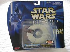 STAR WARS-Federation Battleship Die-Cast Metal Micro Machines, Episode 1- NEW