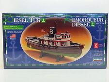 """Lot 13072   Lindberg 77221 """"Diesel masseuses"""" Boat HO Boot 1:87 ungebaut nouveau dans neuf dans sa boîte"""