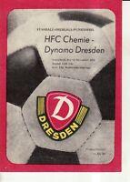 OL 81/82  SG Dynamo Dresden - HFC Chemie