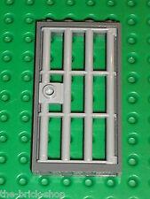 LEGO MdStone Door 1 x 4 x 6 Barred ref 60621 / Set 7744 7594 6242 7288 8635 7048