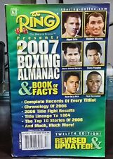 The Ring Boxing Almanac and Book of Facts 2007 Pacquiao part of cover
