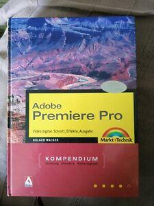 Computerbuch Adobe Premiere Pro, super Zustand