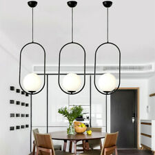 Black Pendant Lighting Glass Ceiling Lights Home Chandelier Light Kitchen Lamp