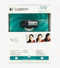 Logitech Webcam Camera C170 Web Cam Video Built in Mic Skype Windows