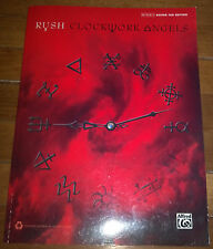 Rush Clockwork Angels Guitar Tablature Authentic Guitar TAB Songbook Music Book