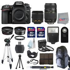 Nikon D7500 Digital SLR Camera 4 Lens Kit 18-55mm VR + 70-300 + All You Need Kit
