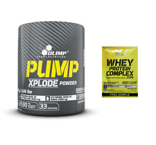 Olimp Pump Xplode Powder Pre-Workout 300g Fruit Punch, Shipping Worldwide + Bonus