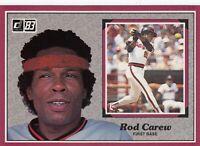 1983 Donruss Action All Stars # 38 Rod Carew -- California Angels