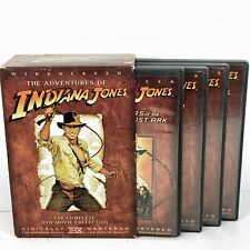 The Adventures of Indiana Jones: The Complete Movie Collection DVD