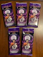 LOT OF (5) 2019-20 Panini Illusions Basketball NBA Cello Packs NEW FREE SHIPPING