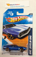 AMC Javelin AMX * KMART only BLUE * 2011 Hot Wheels * NE6