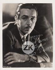 WALT DISNEY Pierre AUTRE Animation CARTOON Hank PORTER Autographe Photo 1930s