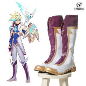 LOL Ezreal Star Guardian Boots Cosplay Shoes Prop Customize